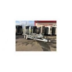 REMORQUE PORTE ENGINS GP126G AVEC 2 RAMPES